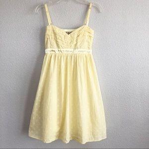 Forever 21 Yellow Spaghetti Strap Dress Sz Medium